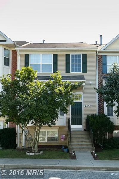 Townhouse Sold: 4004 Tahoe Place