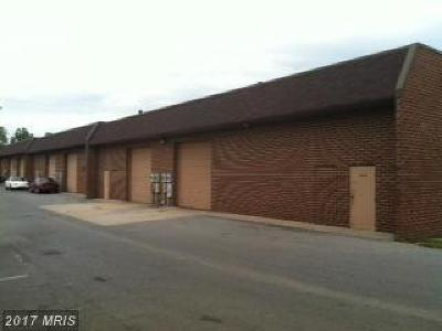 Calvert, Charles, Saint Marys Commercial Lease For Lease: 28 Industrial Park Drive