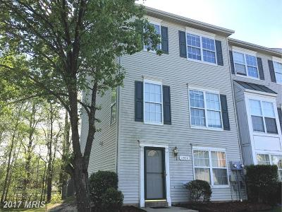 Waldorf Townhouse For Sale: 11970 Calico Woods Place