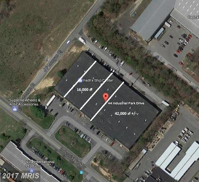 Calvert, Charles, Saint Marys Commercial Lease For Lease: 44 Industrial Park Drive