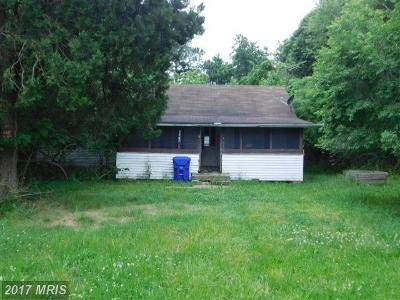 Newburg MD Single Family Home For Sale: $49,900