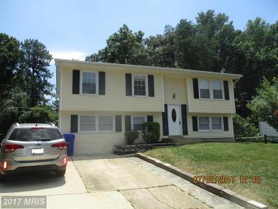 Waldorf Single Family Home For Sale: 1203 Jefferson Lane
