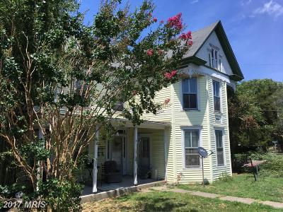 Federalsburg Single Family Home For Sale: 214 Central Avenue