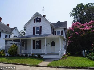 Denton Single Family Home For Sale: 209 2nd Street
