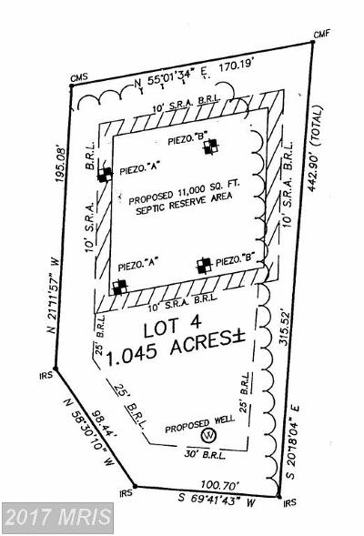 Preston MD Residential Lots & Land For Sale: $45,000