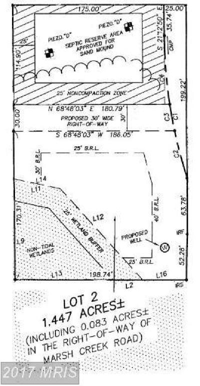 Residential Lots & Land For Sale: Marsh Creek Road