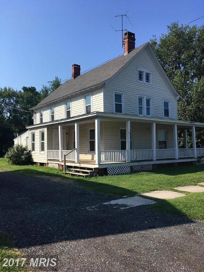 Ridgely Multi Family Home For Sale: 110 Railroad Avenue