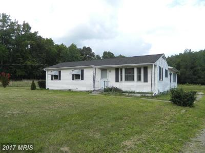 Goldsboro Single Family Home For Sale: 15581 Union Road