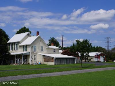 Greensboro Single Family Home For Sale: 26360 Whiteleysburg Road