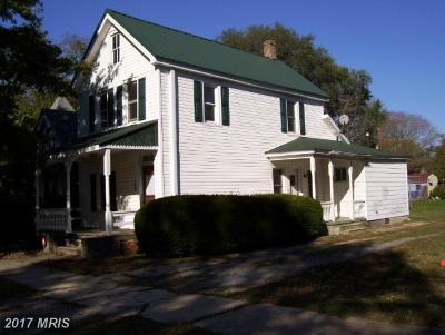 Denton, Preston, Ridgely Single Family Home For Sale: 108 Park Avenue