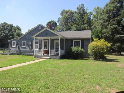 Caroline Single Family Home For Sale: 12669 Greensboro Road