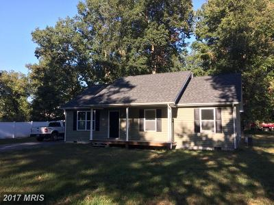 Federalsburg Single Family Home For Sale: 3162 Hidden Way