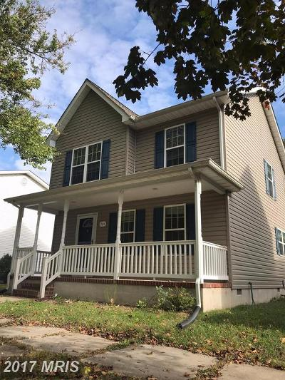 Ridgely Single Family Home For Sale: 204 Maryland Avenue