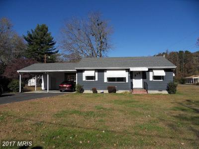 Federalsburg Single Family Home For Sale: 26606 Idlewild Road