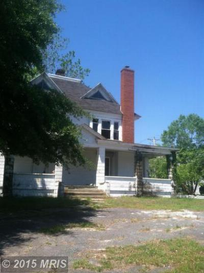 Federalsburg MD Single Family Home Sold: $29,900