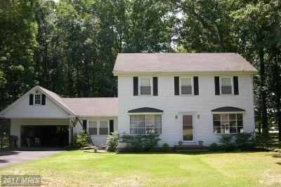 Federalsburg Single Family Home For Sale: 2845 Miles Branch Road