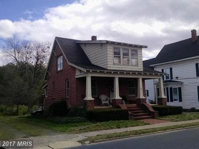Federalsburg Single Family Home For Sale: 215 North Main Street