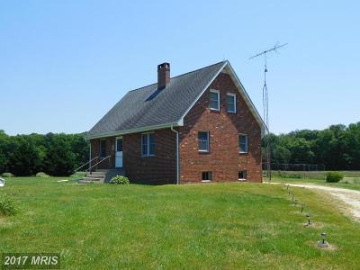 Caroline County, Caroline Farm For Sale: 18871 Templeville Road