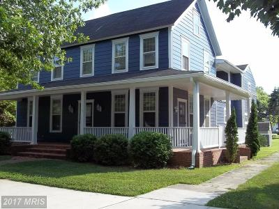 Ridgely Single Family Home For Sale: 113 Central Avenue