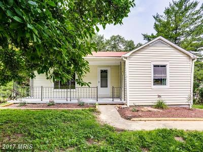 Westminster Single Family Home For Sale: 940 Washington Road