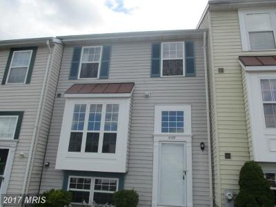 Hampstead Townhouse For Sale: 4109 Creswell Terrace