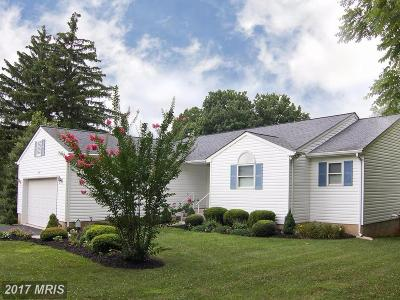 Sykesville Single Family Home For Sale: 2140 Liberty Road