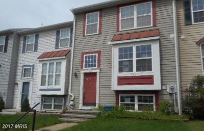 Sykesville Townhouse For Sale: 1226 Seron Court