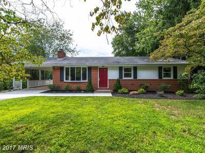 Sykesville Single Family Home For Sale: 2203 Harvest Farm Road