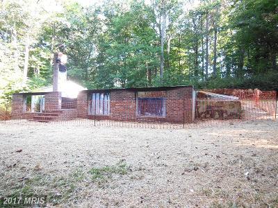 Sykesville Single Family Home For Sale: 729 Buckhorn Road