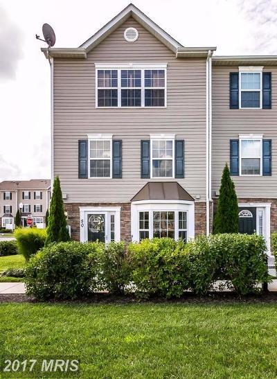 Eldersburg Single Family Home For Sale: 1900 Lennox Drive #50