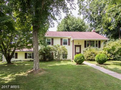 Finksburg Single Family Home For Sale: 2423 Lawndale Road