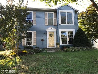 Sykesville Single Family Home For Sale: 1630 Brimfield Circle