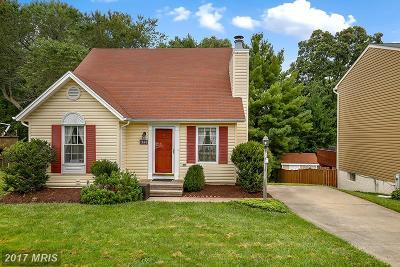 Eldersburg Single Family Home For Sale: 1648 Brimfield Circle