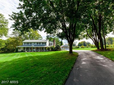 Finksburg Single Family Home For Sale: 3877 Gamber Road