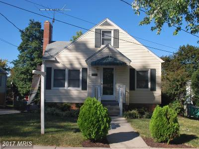 Mount Airy Single Family Home For Sale: 205 Montgomery Avenue