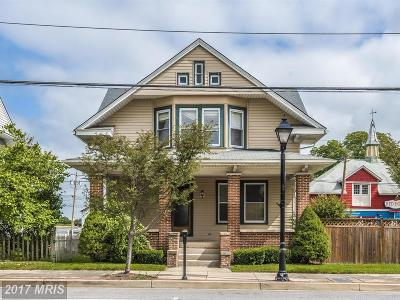 Single Family Home For Sale: 22 Baltimore Street