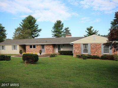 Westminster Single Family Home For Sale: 1532 Pleasant Valley South Road