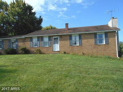 Single Family Home For Sale: 3047 Old Taneytown Road