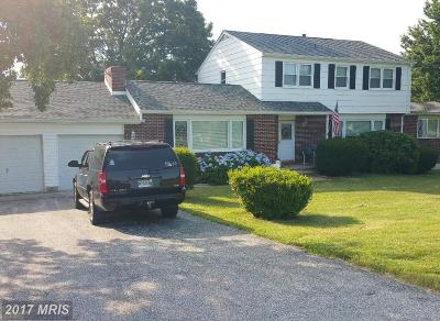 Finksburg Single Family Home For Sale: 2014 Suffolk Road