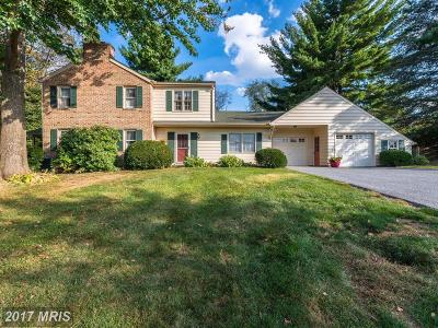 Westminster Single Family Home For Sale: 841 Gist Road