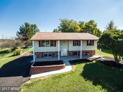 Westminster Single Family Home For Sale: 341 Old Bachman Valley Road