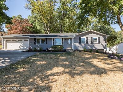 Sykesville Single Family Home For Sale: 5272 Freter Road