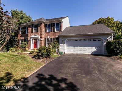 Eldersburg Single Family Home For Sale: 1160 Lafayette Drive