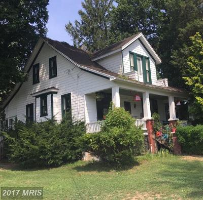 Westminster Single Family Home For Sale: 2640 Sykesville Road