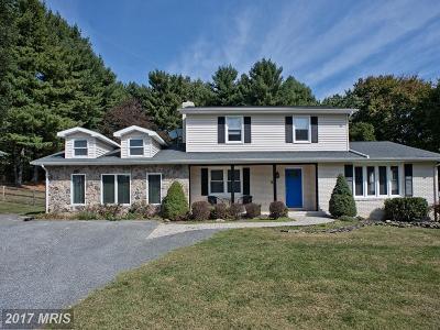Sykesville Single Family Home For Sale: 1012 Streaker Road