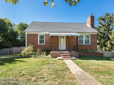Sykesville Single Family Home For Sale: 4400 Bartholow Road