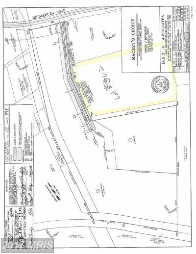 Residential Lots & Land For Sale: Middleburg Road