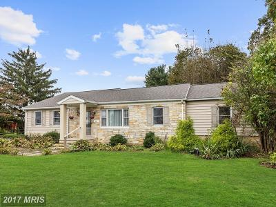 Sykesville Single Family Home For Sale: 1231 Fannie Dorsey Road