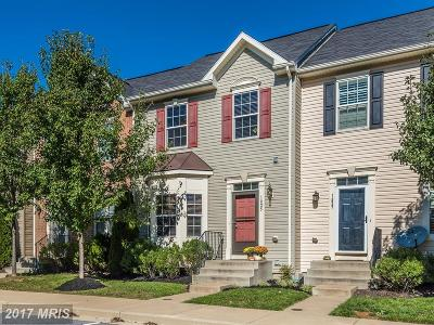 Mount Airy Townhouse For Sale: 1825 Reading Court