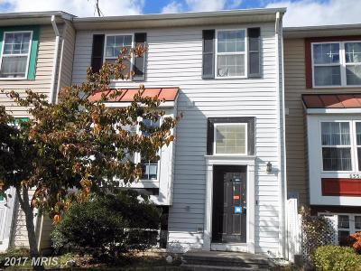Eldersburg Townhouse For Sale: 6356 Jacobs Court